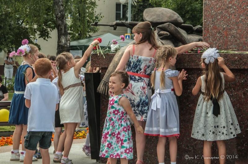 Церемония открытия стелы памяти, посвященной памяти российских воинов, погибших в Первой мировой войне. Фоторепортаж 30