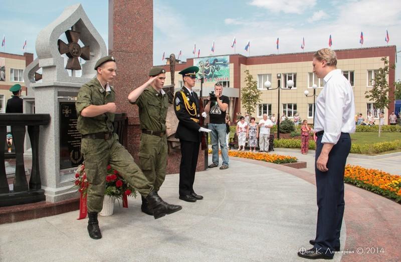 Церемония открытия стелы памяти, посвященной памяти российских воинов, погибших в Первой мировой войне. Фоторепортаж 36
