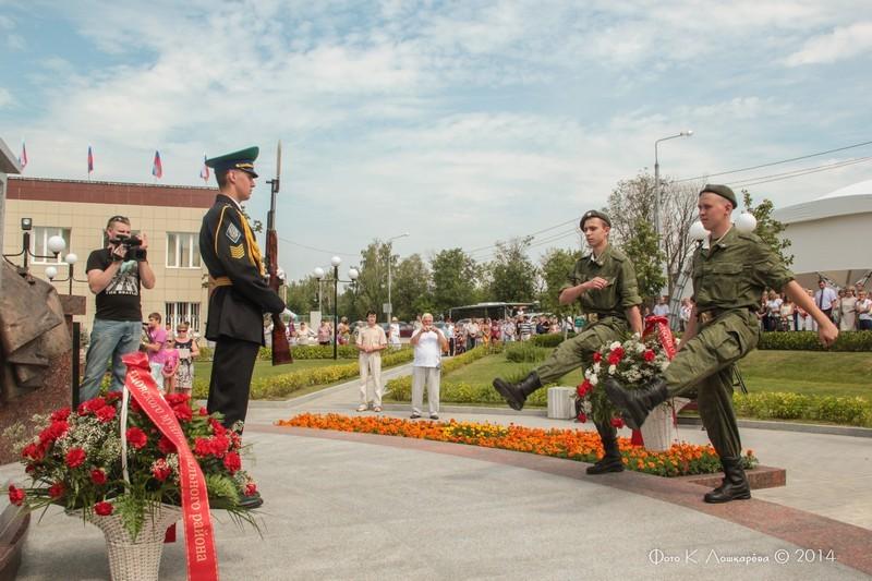 Церемония открытия стелы памяти, посвященной памяти российских воинов, погибших в Первой мировой войне. Фоторепортаж 37