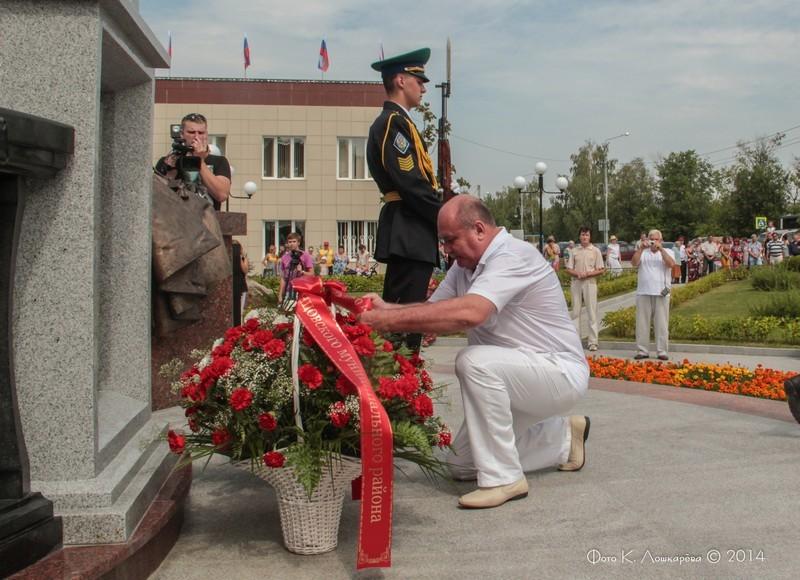 Церемония открытия стелы памяти, посвященной памяти российских воинов, погибших в Первой мировой войне. Фоторепортаж 38