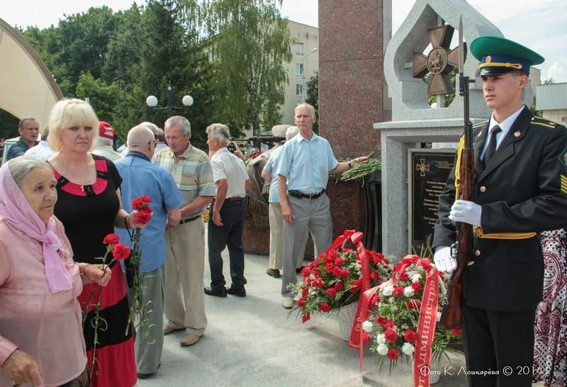 Церемония открытия стелы памяти, посвященной памяти российских воинов, погибших в Первой мировой войне. Фоторепортаж 41