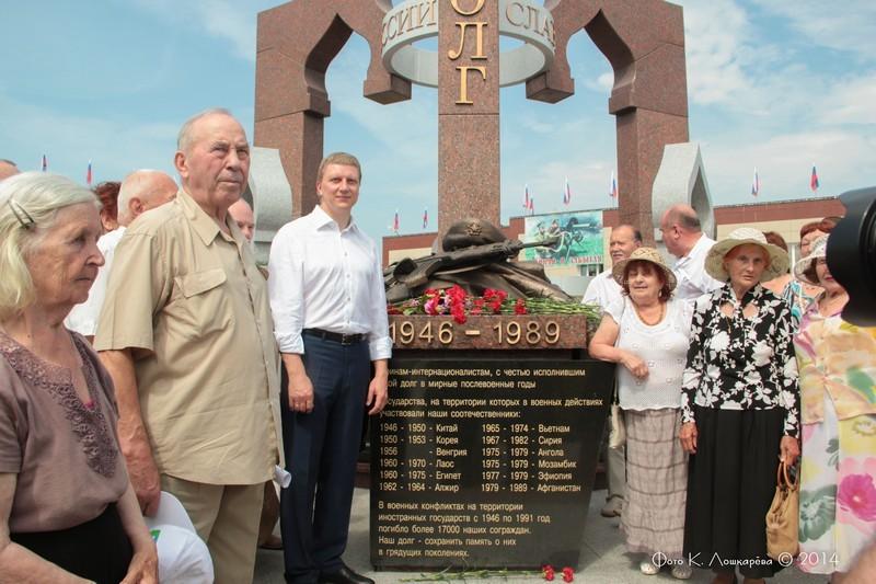 Церемония открытия стелы памяти, посвященной памяти российских воинов, погибших в Первой мировой войне. Фоторепортаж 46