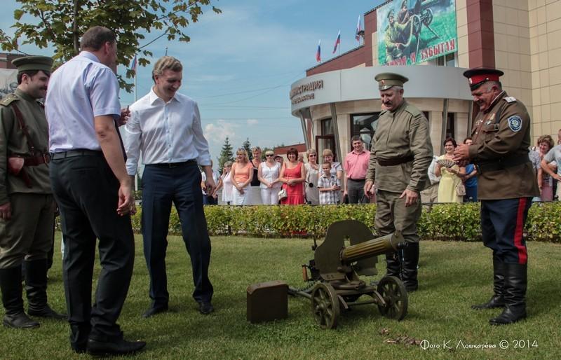 Церемония открытия стелы памяти, посвященной памяти российских воинов, погибших в Первой мировой войне. Фоторепортаж 48