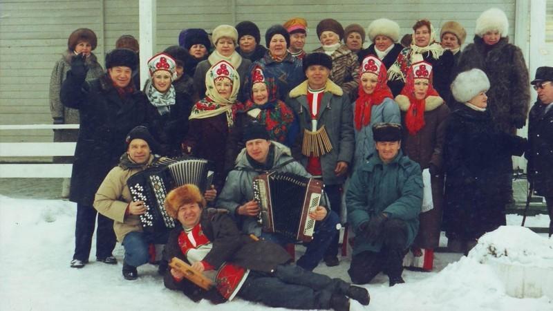 Проводы русской зимы 1995 г.