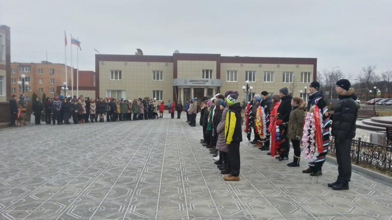 73 годовщина начала контрнаступления частей Красной армии под Москвой 5