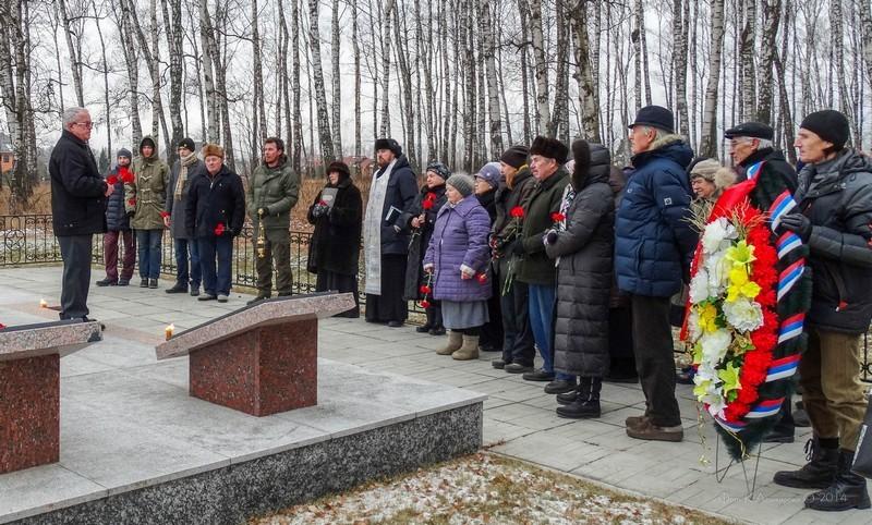 73 годовщина начала контрнаступления частей Красной армии под Москвой 12