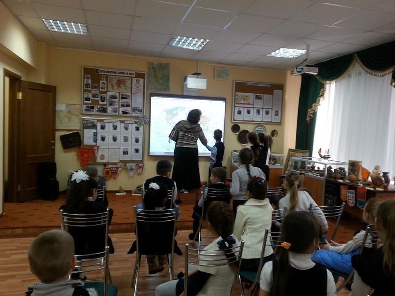 Уроки мужества для  ершовских школьников 7