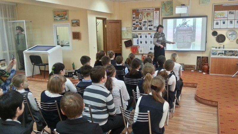 Уроки мужества для  ершовских школьников 3
