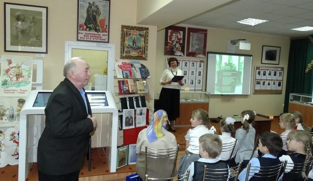 Своими воспоминаниями о военном времени поделилсяСергей Кирьянович Вовк.