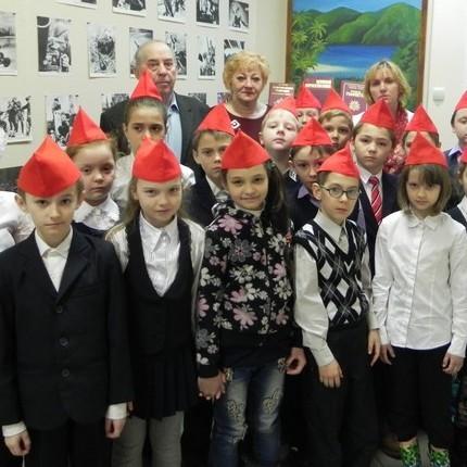 Урок мужества в военном городке Фуньково