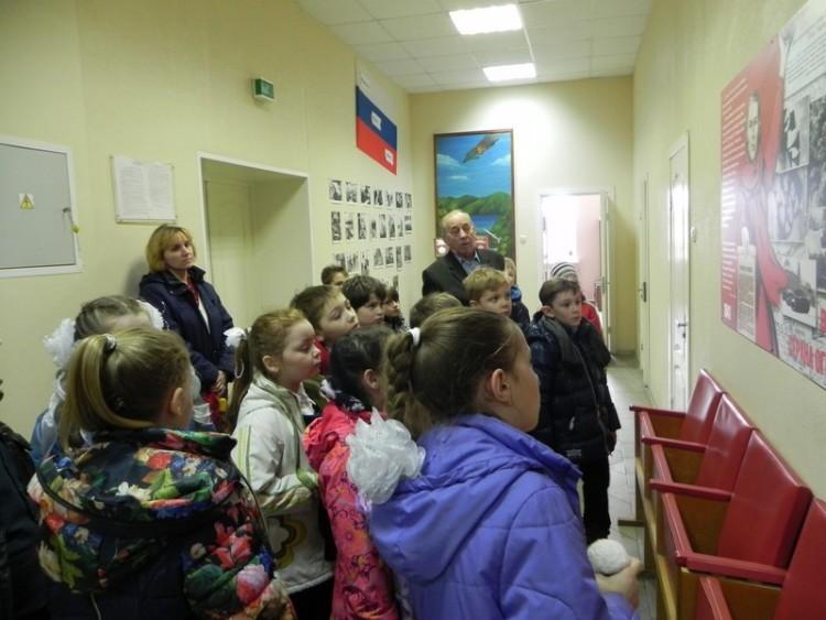 Урок мужества в военном городке Фуньково 2