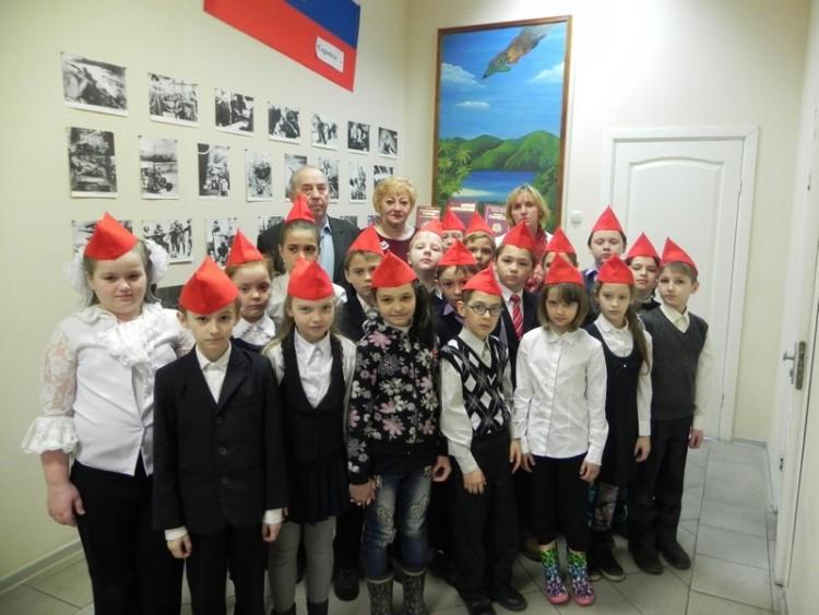 Урок мужества в военном городке Фуньково 3