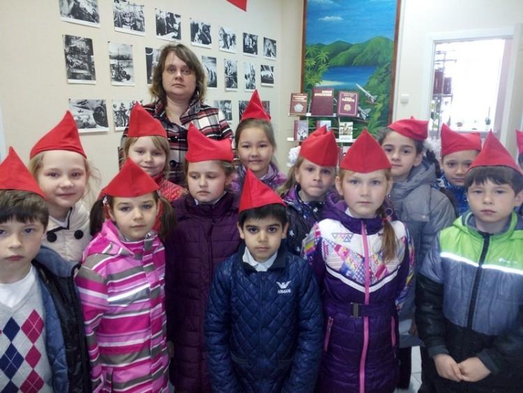 Урок мужества в военном городке Фуньково 4