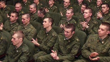 Хорошее настроение для участников военного парада