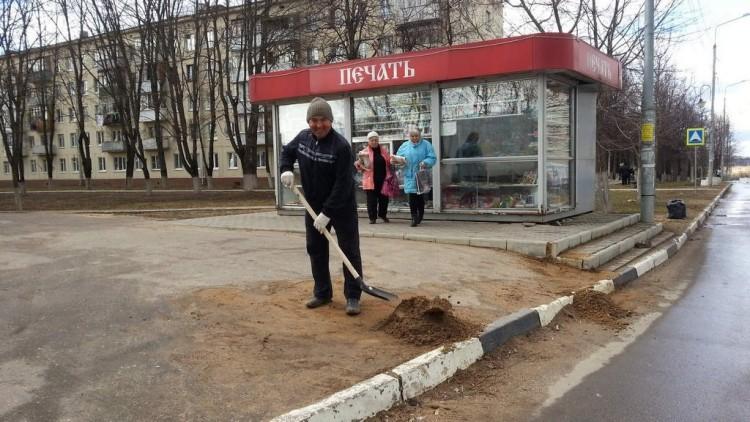 """""""Чистый двор-чистая совесть"""". Фоторепортаж 6"""