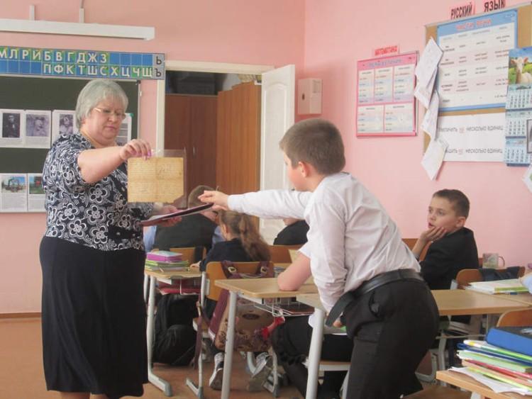 Уроки мужества в СОШ села Саввинская Слобода 5 - 7 мая 2015 г. 6