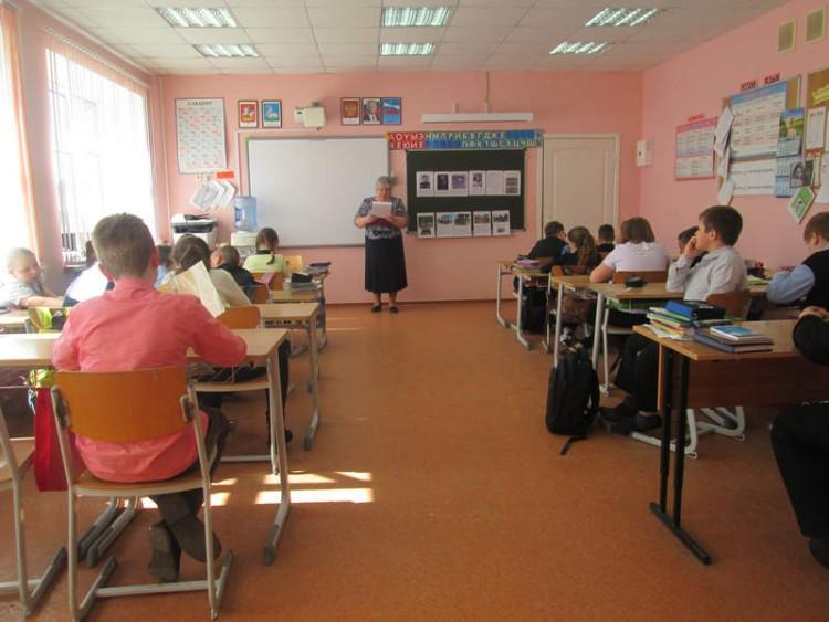 Уроки мужества в СОШ села Саввинская Слобода 5 - 7 мая 2015 г. 9