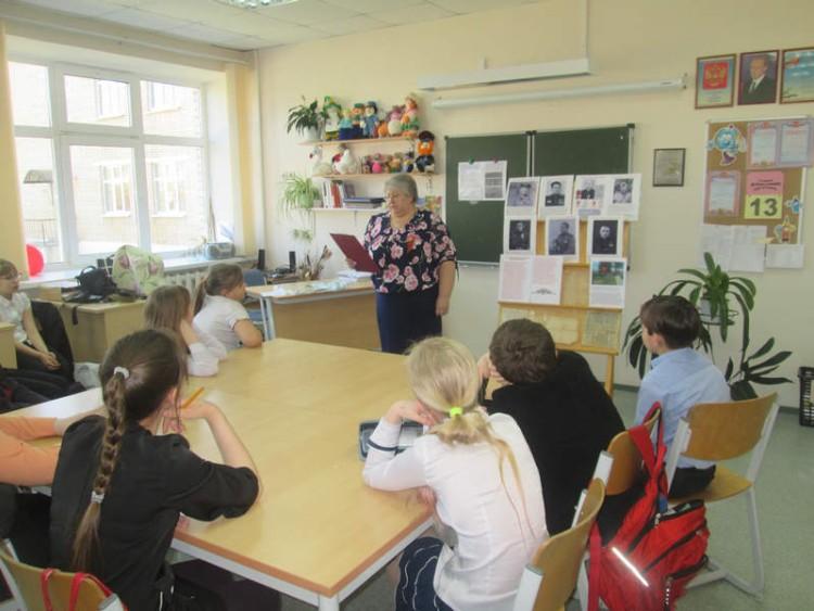 Уроки мужества в СОШ села Саввинская Слобода 5 - 7 мая 2015 г. 10