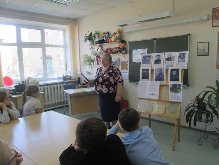 Уроки мужества в СОШ села Саввинская Слобода 5 - 7 мая 2015 г. 12