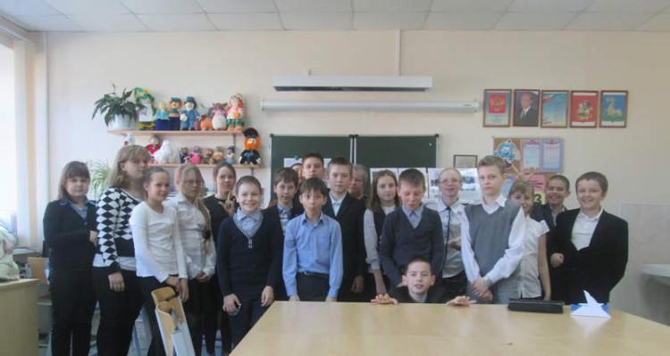 Уроки мужества в СОШ села Саввинская Слобода 5 - 7 мая 2015 г. 13