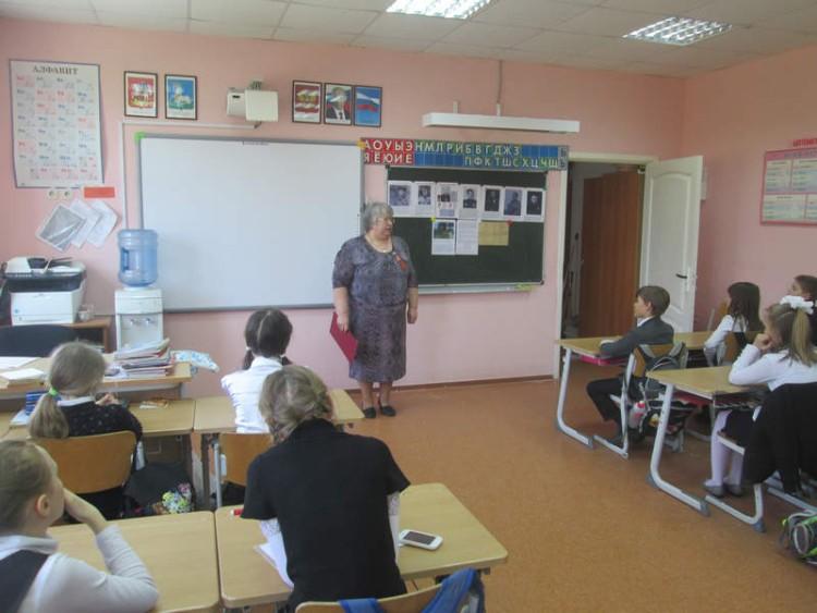 Уроки мужества в СОШ села Саввинская Слобода 5 - 7 мая 2015 г. 14