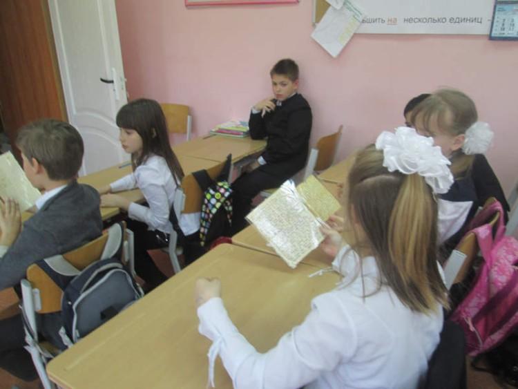 Уроки мужества в СОШ села Саввинская Слобода 5 - 7 мая 2015 г. 16