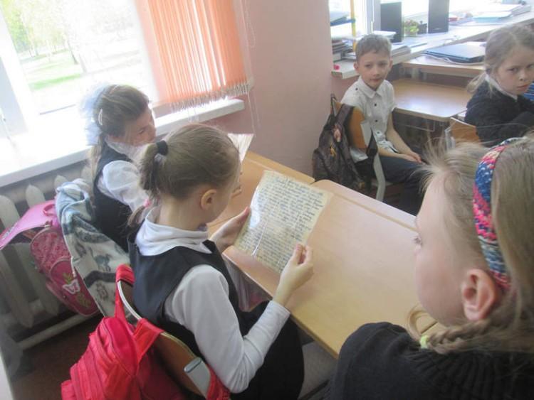 Уроки мужества в СОШ села Саввинская Слобода 5 - 7 мая 2015 г. 18