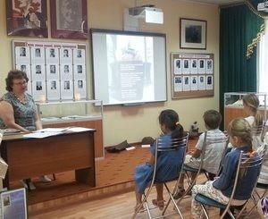 Экскурсия для детей в музейной экспозиции в с. Ершово