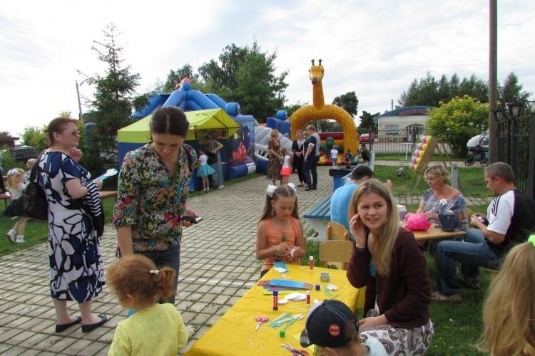 Фоторепортаж. День семьи, любви и верности в селе Аксиньино 3