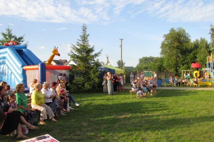 Фоторепортаж. День семьи, любви и верности в селе Аксиньино 12