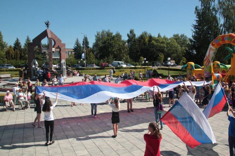 22 августа - День Государственного флага России 8
