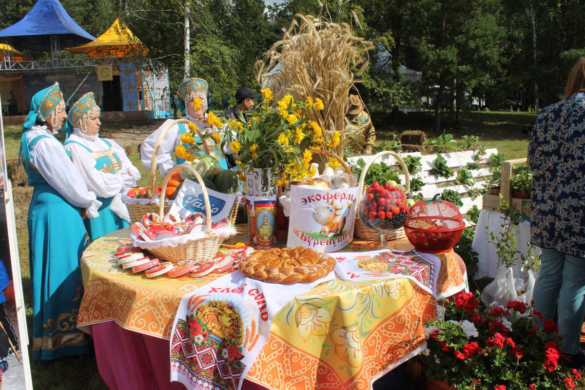 Фестиваль стола в Захарово 2