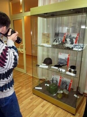 Участники автопробега в музейной экспозиции села Ершово 4