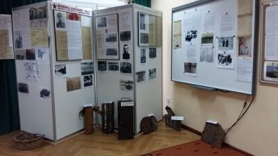 Открытие выставки в КДЦ села Ершово 7