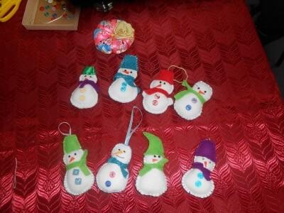 Новогодние игрушки делаем своими руками 7