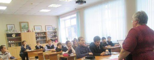 Открытый урок в Саввинской школе