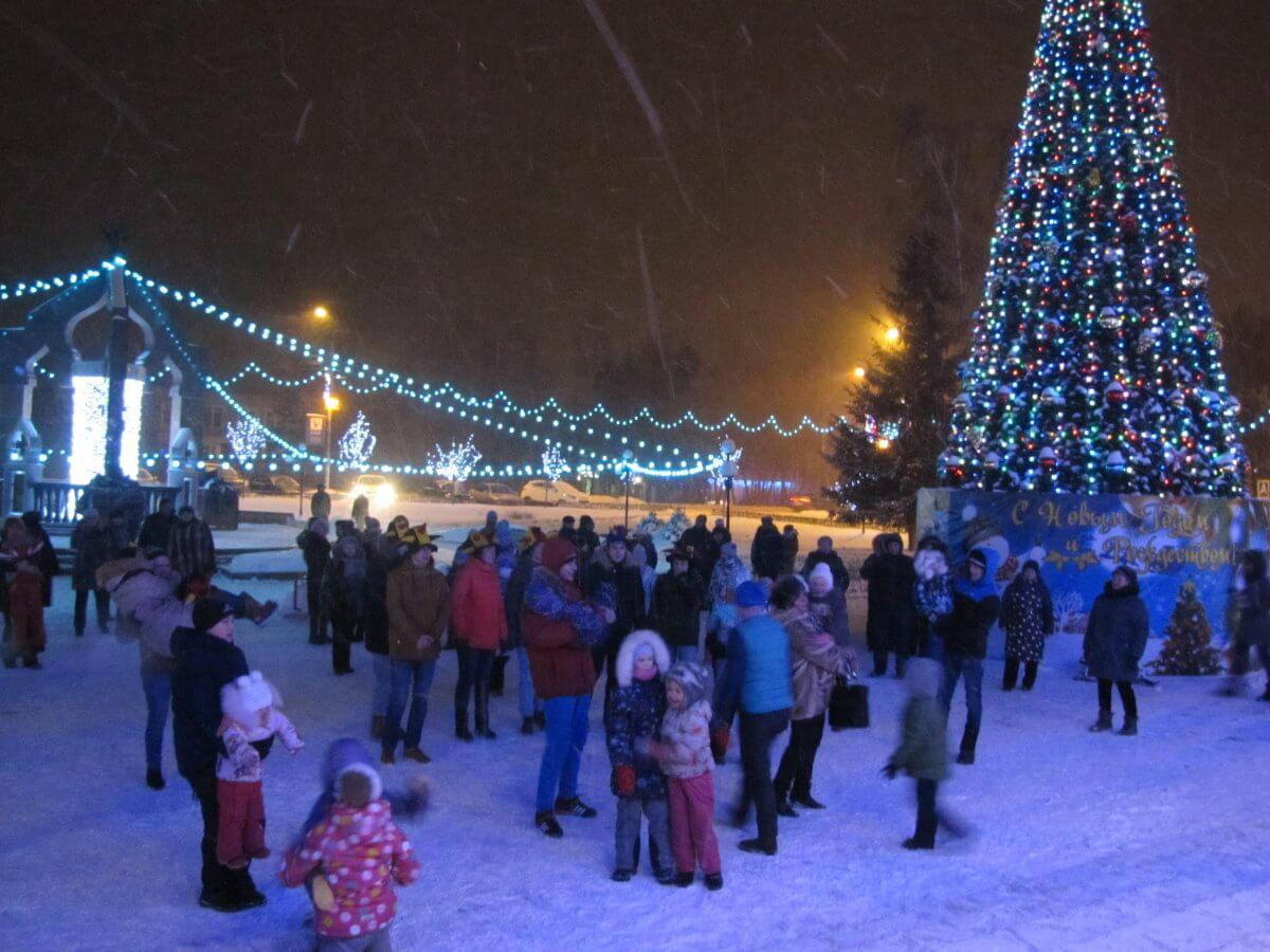 Старый Новый год в Ершово