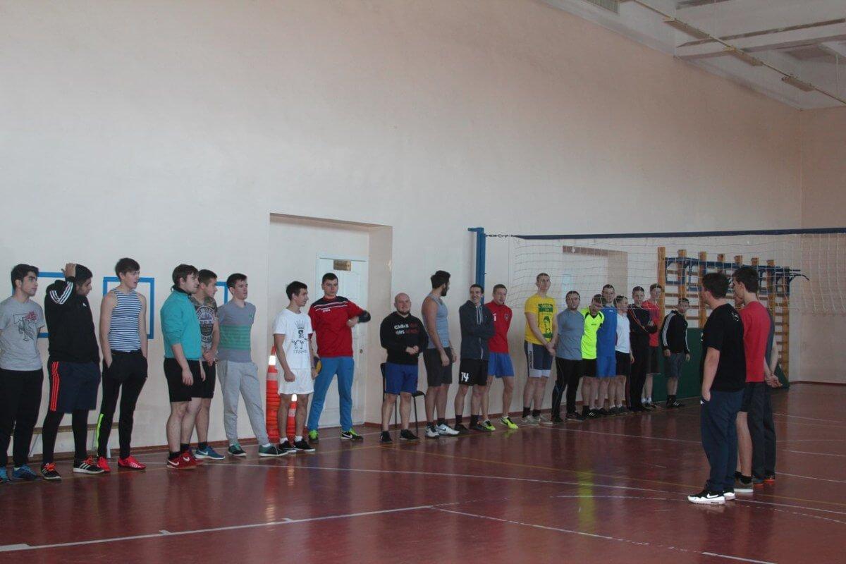 Товарищеский турнир по волейболу среди молодежи СП Ершовское