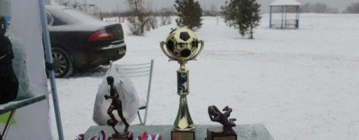 Турнир по мини футболу на снегу, за кубок Главы Сельского поселения Ершовское