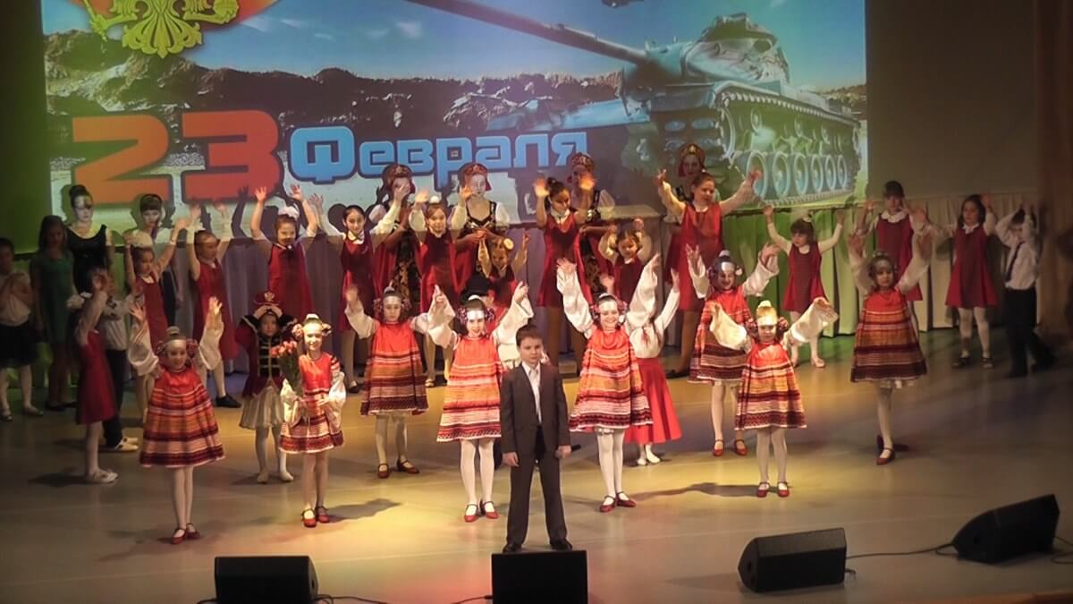 Финал концерта в КДЦ села Ершово