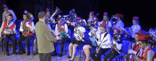 Видео. Духовой оркест СП Ершовское
