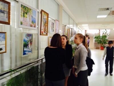 Выставка картин Галины Векслер