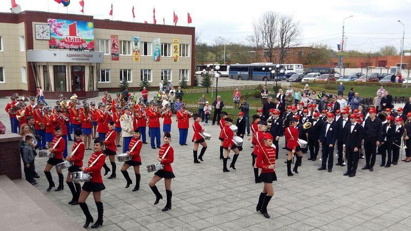 Фестиваль духовых оркестров «Ершовская весна»