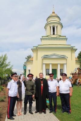 Народное гуляние,посвящённое празднику Святой Троицы