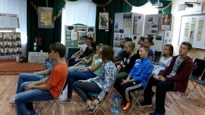 Тематические экскурсии в музейной экспозиции в селе Ершово