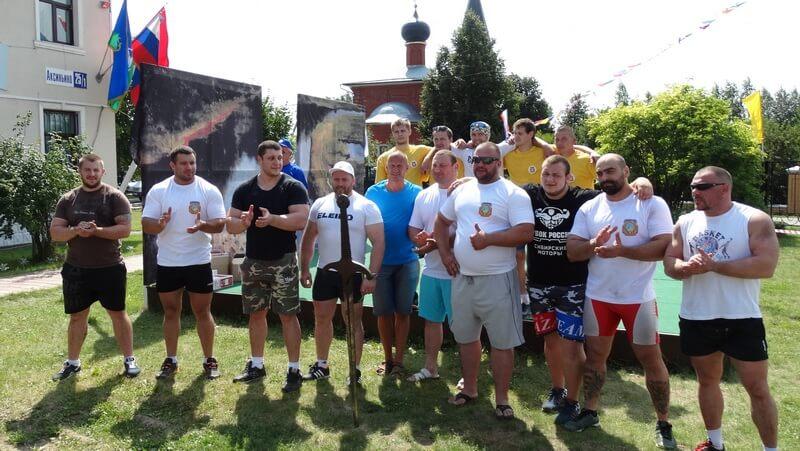 Самые сильные люди России собрались в селе Аксиньино