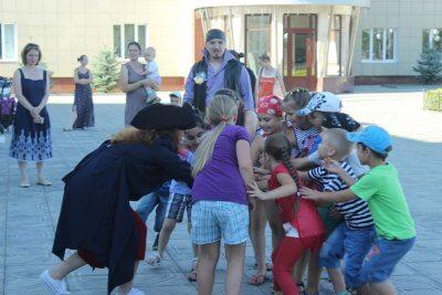 """""""Большие пиратские игры"""" в с. Ершово"""
