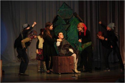 Театральная премьера в Ершово