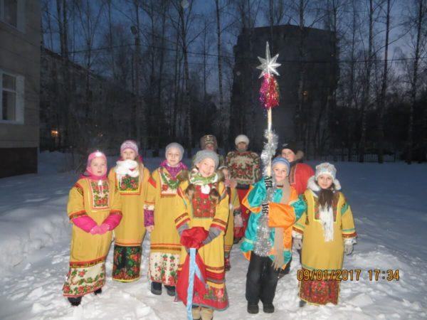 РОЖДЕСТВО в селе Каринское