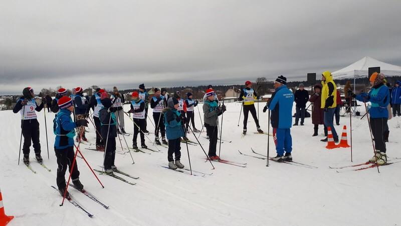 Лыжный пробег «Слава воинам России»